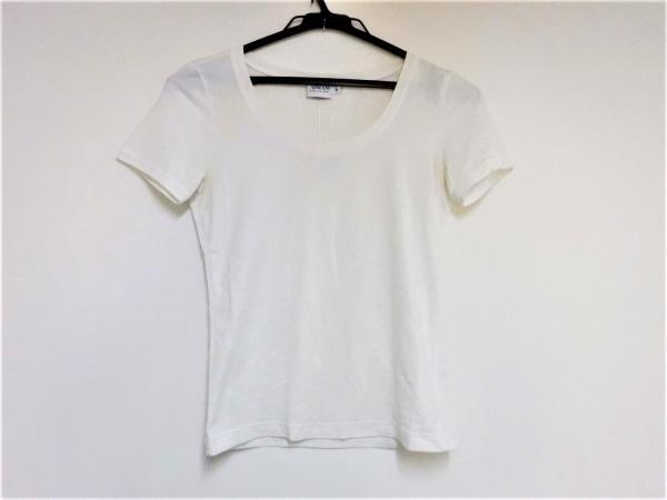 アルマーニコレッツォーニ 半袖Tシャツ サイズ38 S レディース アイボリー