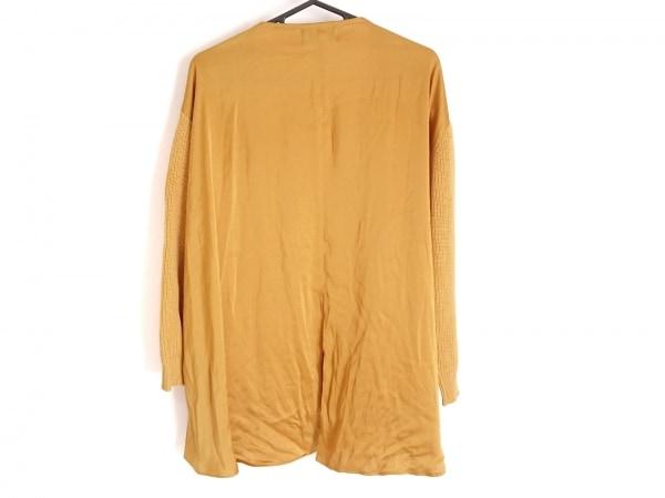ジャスグリッティー 長袖セーター サイズ2 M レディース イエロー 異素材切替