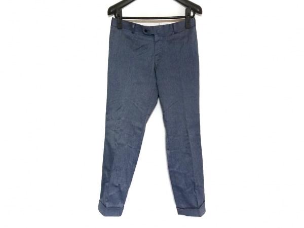 リチャードジェームス パンツ サイズ36 S メンズ ブルー×ライトブルー