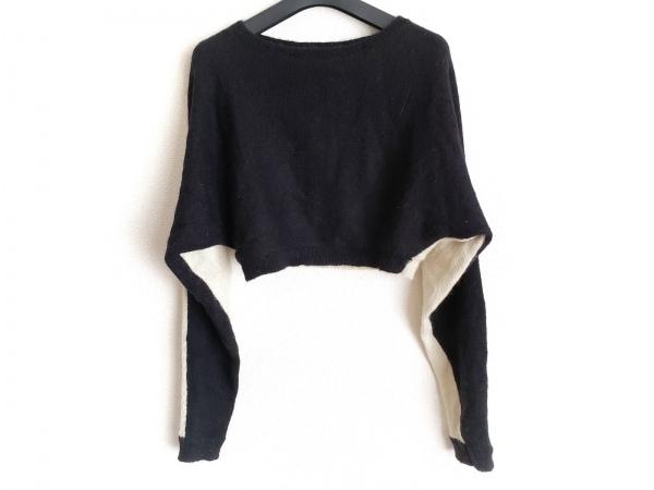 オープニングセレモニー セーター サイズS レディース 黒×ベージュ