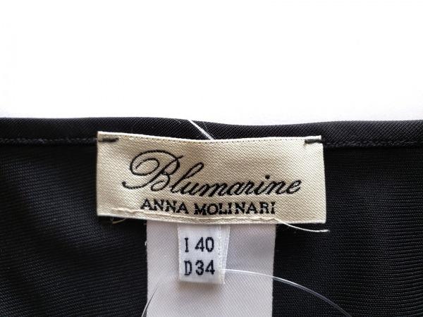 ANNA MOLINARI(アンナモリナーリ) ワンピース サイズI  40 レディース 黒