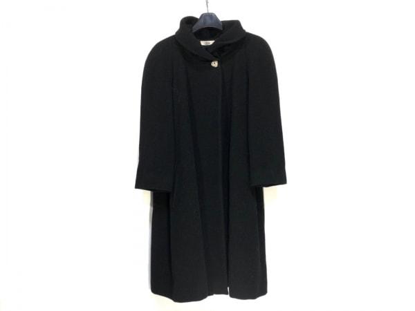 MADAM JOCONDE(マダムジョコンダ) コート サイズ9 M レディース 黒 冬物