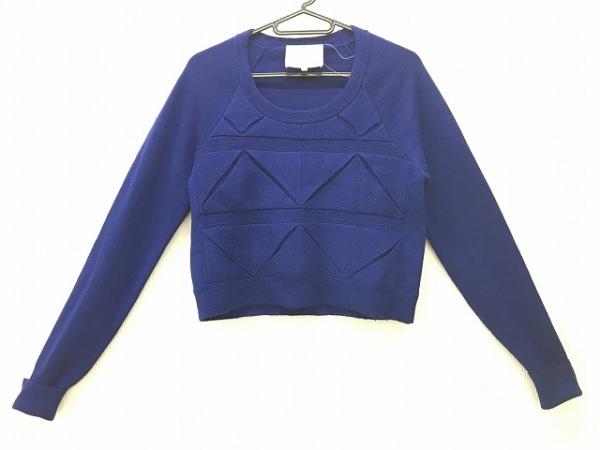 スリーワンフィリップリム 長袖セーター サイズXS レディース ブルー