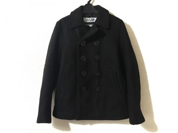 schott(ショット) Pコート サイズ13 L レディース 黒 U.S.740N/冬物