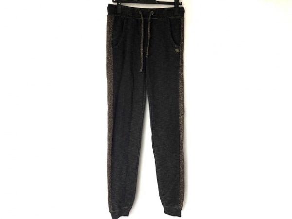 MissMe(ミスミー) パンツ サイズM レディース 黒×ゴールド ラメ