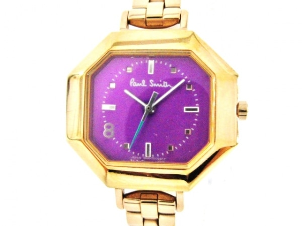 PaulSmith(ポールスミス) 腕時計 5930-T010741 レディース パープル