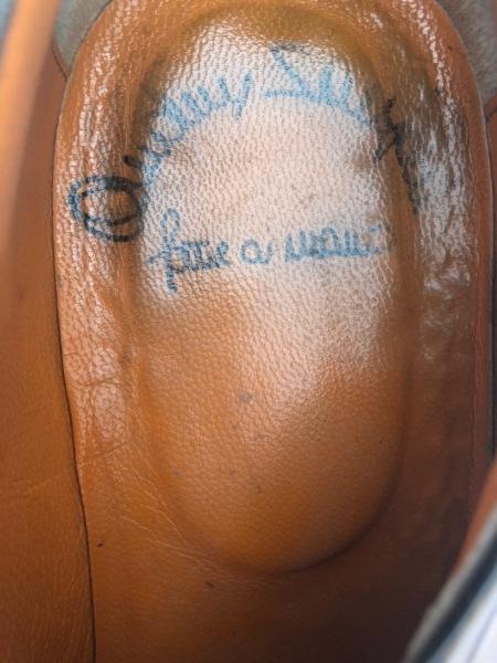 SANTONI(サントーニ) シューズ 7 メンズ ブラウン アウトソール張替済 レザー