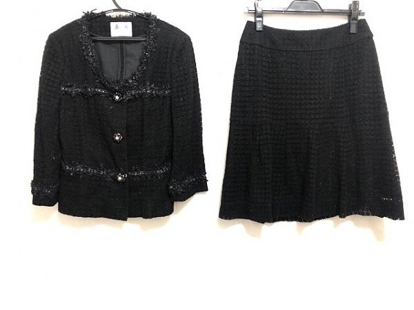 Austin Reed(オースチンリード) スカートスーツ サイズ38 L レディース美品  黒