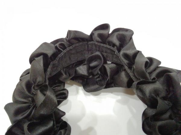 Maison de FLEUR(メゾンドフルール) トートバッグ美品  黒×ピンク 化学繊維