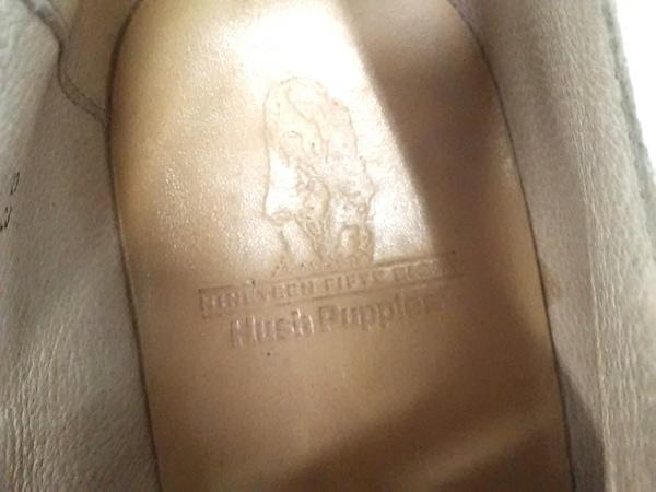 HUSH PUPPIES(ハッシュパピーズ) シューズ 25 メンズ ダークグレー×白 ヌバック