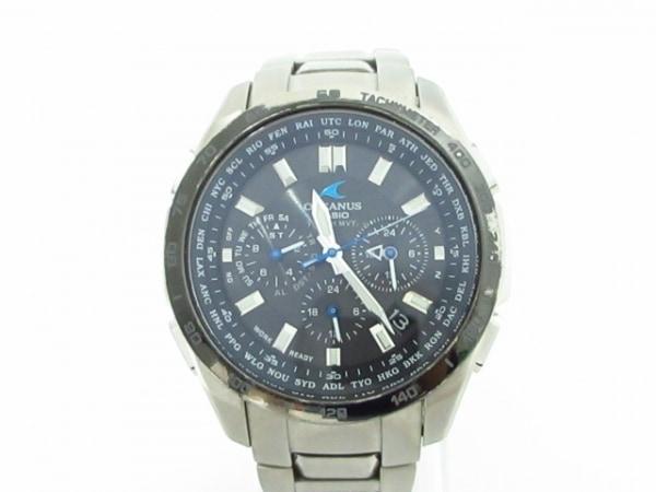 CASIO(カシオ) 腕時計 オシアナス 0CW-T601 メンズ 黒