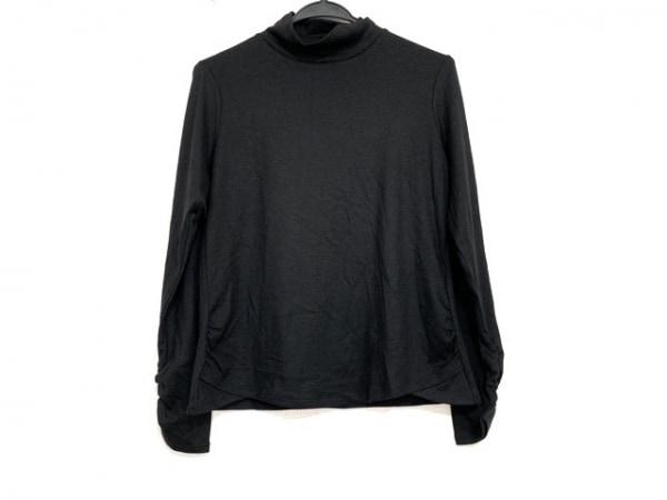 HIROKO BIS(ヒロコビス) 長袖Tシャツ サイズ11 M レディース美品  黒 ハイネック
