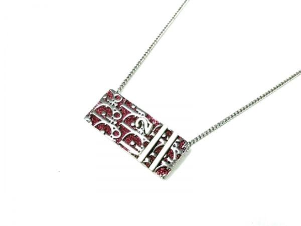 ChristianDior(クリスチャンディオール) ネックレス美品  トロッター 金属素材
