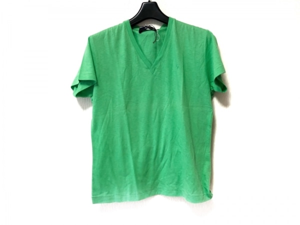 ポロスポーツラルフローレン 半袖Tシャツ サイズL レディース美品  ライトグリーン