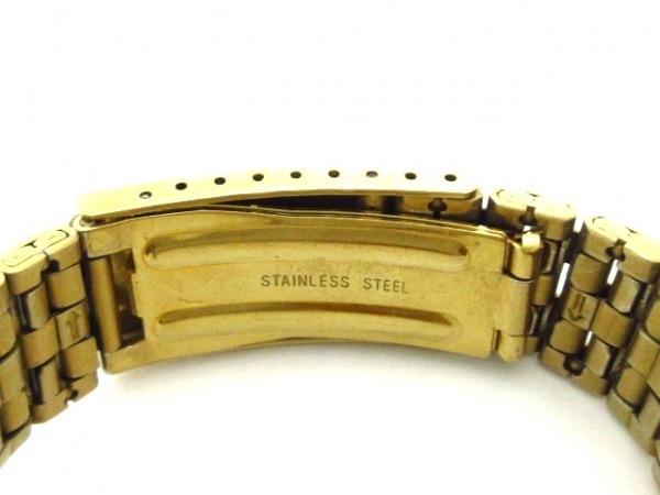 ORIENT(オリエント) 腕時計 ワールドタイム 469EE8-71 メンズ ゴールド×黒