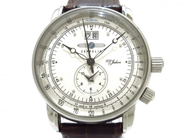ZEPPELIN(ツェッペリン) 腕時計 - メンズ シルバー