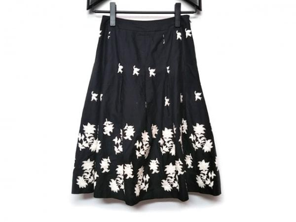 Sybilla(シビラ) スカート レディース 黒×白