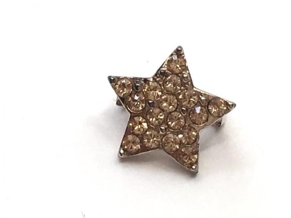 NOJESS(ノジェス) アクセサリー 金属素材×ラインストーン ゴールド×クリア