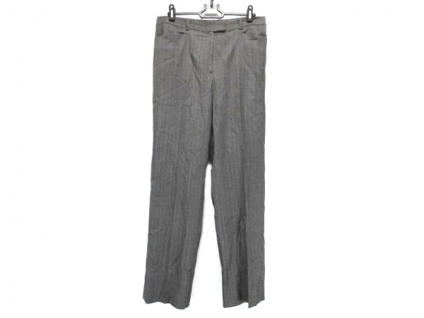 DAKS(ダックス) パンツ サイズ42 XL レディース ダークグレー×ライトブラウン