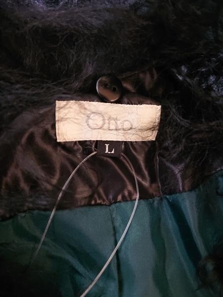 OTTO(オットー) ダウンコート サイズL レディース 黒 冬物
