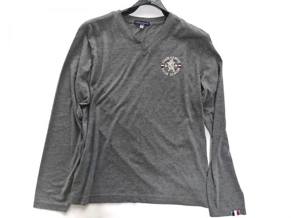 Laura Felice(ラウラフェリーチェ) 長袖Tシャツ サイズ46 XL メンズ美品  グレー