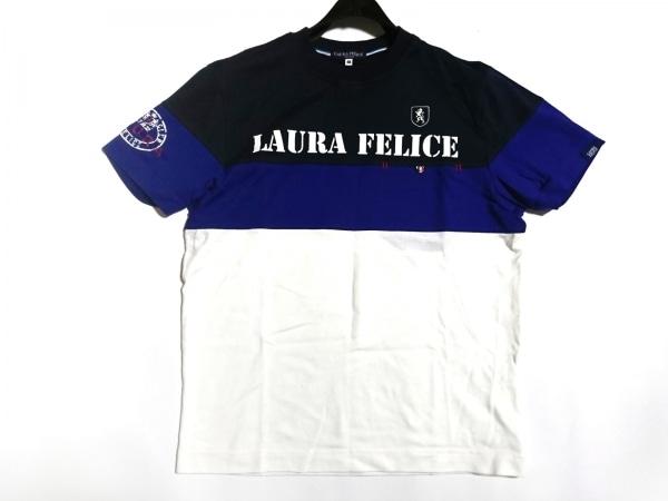 Laura Felice(ラウラフェリーチェ) 半袖Tシャツ サイズ46 XL メンズ美品