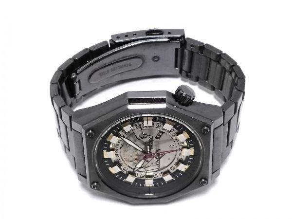 ORIENT(オリエント) 腕時計 ERAJ-D0 メンズ シルバー