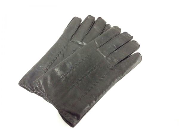 RUFFO(ルッフォ) 手袋 M メンズ - - 黒 レザー