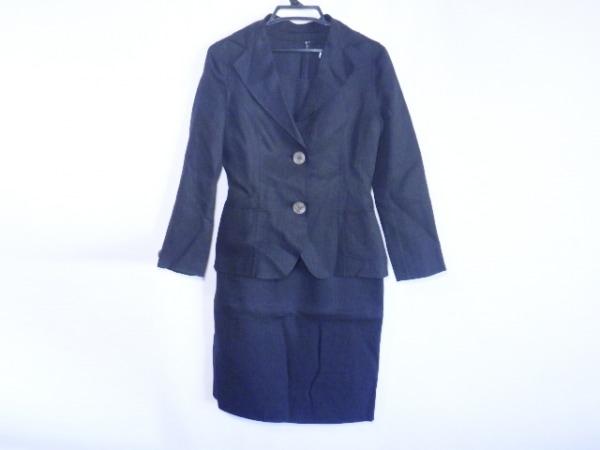 MUSEE D'UJI(ミュゼドウジ) ワンピーススーツ サイズ38 M レディース美品  黒