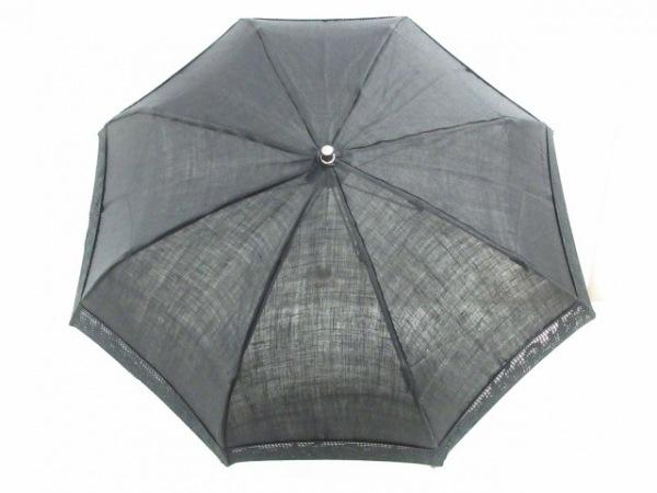 RalphLauren(ラルフローレン) 日傘美品  黒 折り畳み 化学繊維