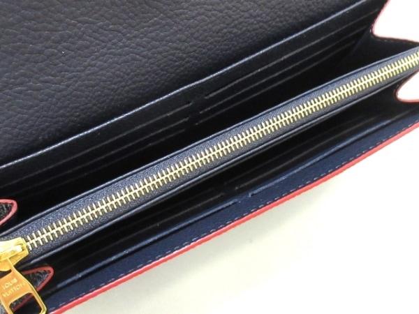 ルイヴィトン 長財布 モノグラム・アンプラント ポルトフォイユ・サラ M62125