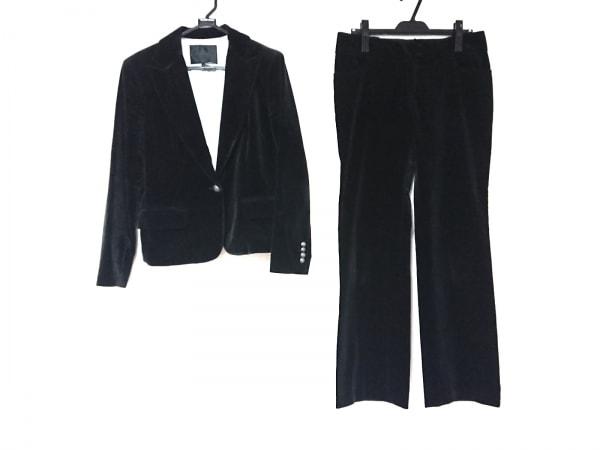 UNTITLED(アンタイトル) レディースパンツスーツ サイズ42 L レディース 黒 ベロア