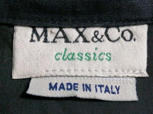 MAX&CO.(マックス&コー) ワンピース サイズ38 S レディース 黒