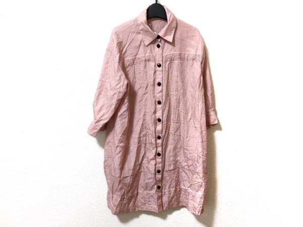 オースチンリード ワンピース サイズ38 L レディース美品  ピンク シャツワンピ