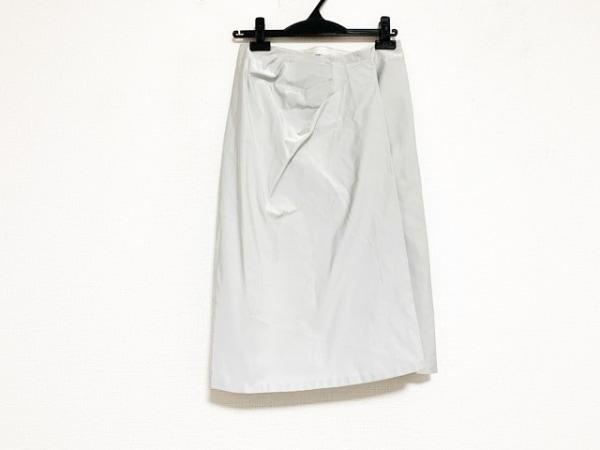 JILSANDER(ジルサンダー) 巻きスカート サイズ34 XS レディース美品  ライトグレー