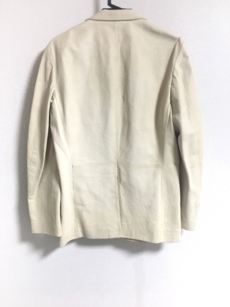 PaulSmith(ポールスミス) ジャケット サイズM メンズ 白 パイソン