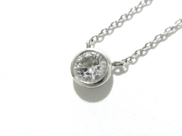 La soma(ラソマ) ネックレス美品  Pt850×ダイヤモンド ダイヤ0.303Ct