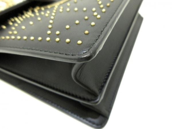 サルバトーレフェラガモ ショルダーバッグ美品  ガンチーニ DY-21/G554 黒 レザー