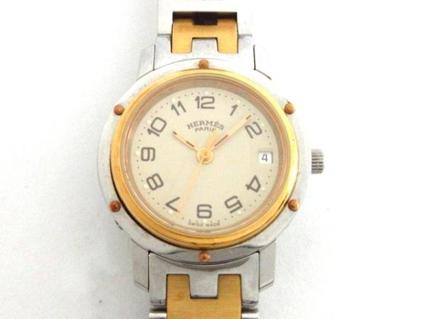 HERMES(エルメス) 腕時計 CL3.240 レディース ベージュ