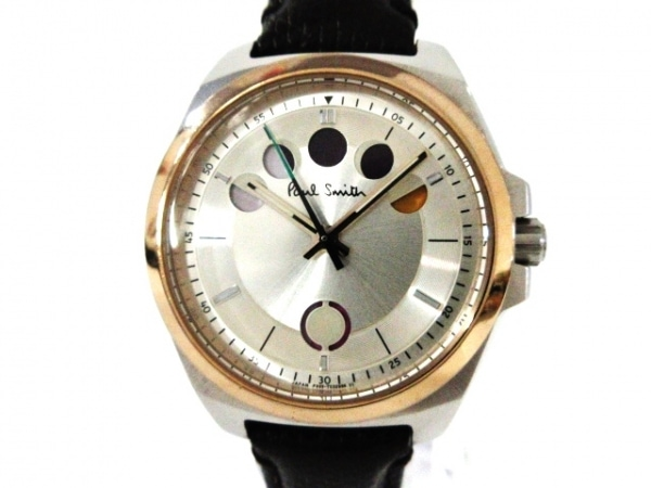 PaulSmith(ポールスミス) 腕時計 F335-T021492 レディース 革ベルト シルバー