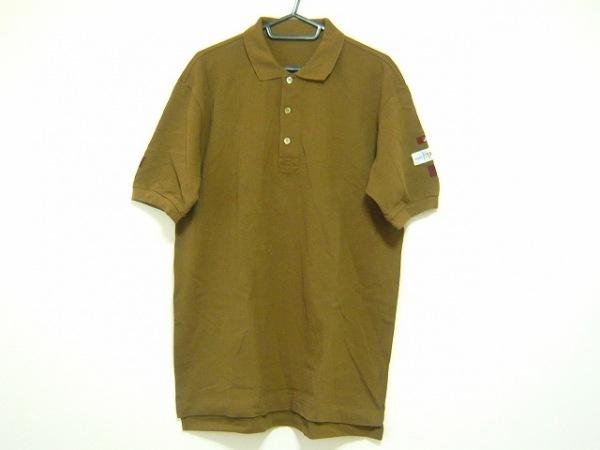 Papas(パパス) 半袖ポロシャツ サイズL メンズ カーキ SPORTS