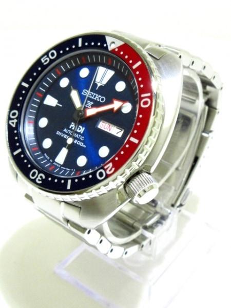 セイコー 腕時計美品  プロスペックス 200Mダイバー 4R36-05H0 メンズ PADIコラボ