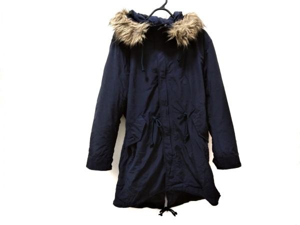 マルシャル・テル ダウンコート サイズ2 M メンズ美品  ネイビー 冬物