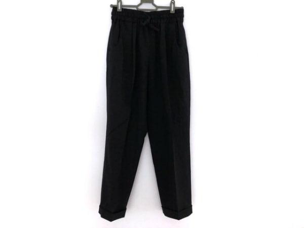 Kiton(キートン) パンツ サイズ40 M レディース美品  黒 ウエストゴム