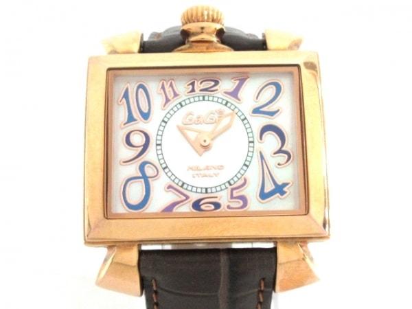 GAGA MILANO(ガガミラノ) 腕時計 ナポレオーネ - レディース シェル文字盤 アイボリー