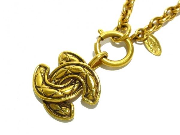 CHANEL(シャネル) ネックレス - 金属素材 ゴールド ココマーク