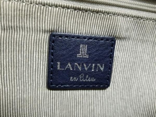 LANVIN en Bleu(ランバンオンブルー) ショルダーバッグ ネイビー レザー