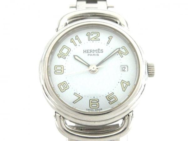 HERMES(エルメス) 腕時計 プルマン PU2.210 レディース 白
