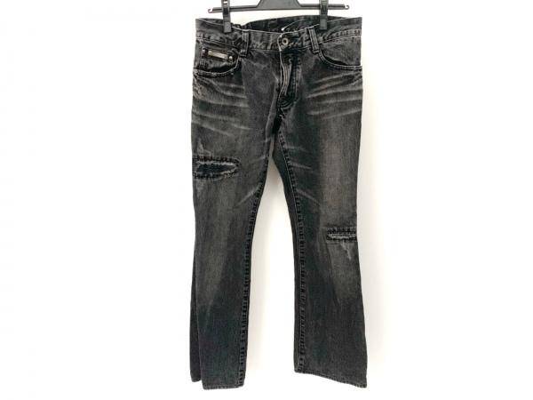 5351 PourLesHomme(5351プールオム) ジーンズ メンズ美品  黒×ライトグレー