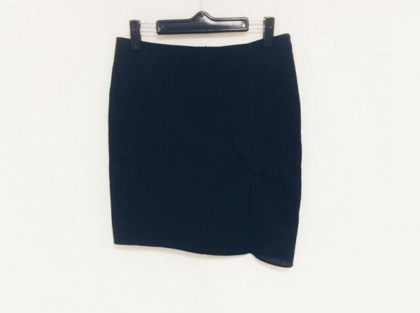 EMPORIOARMANI(エンポリオアルマーニ) ミニスカート サイズ40 M レディース 黒 リボン